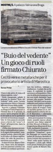 buio del vedente_il giornale di vicenza_7-01-2010