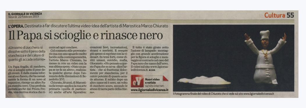 Febbraio 2013 Marco Chiurato