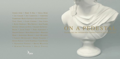 On a Pedestal, print invitation