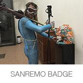 SANREMO BADGE copia